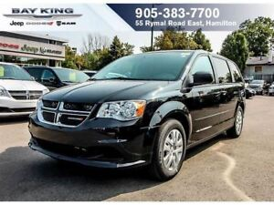 "2017 Dodge Grand Caravan SXT ""STOW N GO"", BLUETOOTH, SAT RADIO,"