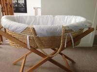 Mamas & Papas Moses Basket - pick up Balfron or Bearsden