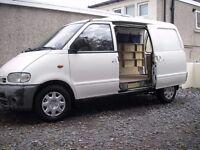 Nissan Vanette cargo van 2.3 diesel. 98k miles , tidy , excellent worker.