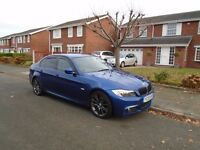 2009 BMW 325D M SPORT AUTOMATIC, FULL SERVICE HISTORY, DRIVES & LOOKS LIKE NEW, SHOWROOM CONDITION.