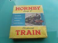 OLD HORNBY TIN TRAIN SET