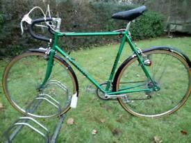 Custom made Vintage Townsend road bike