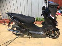 Direct bike 50 cc black viper 2017