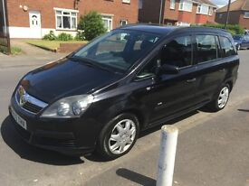 Vauxhall Zafira 1.8 Manual 1 Year MOT