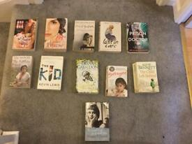 Selection of books most are in immaculate condition. Sold in bulk. £15 the lot. RRP £50.