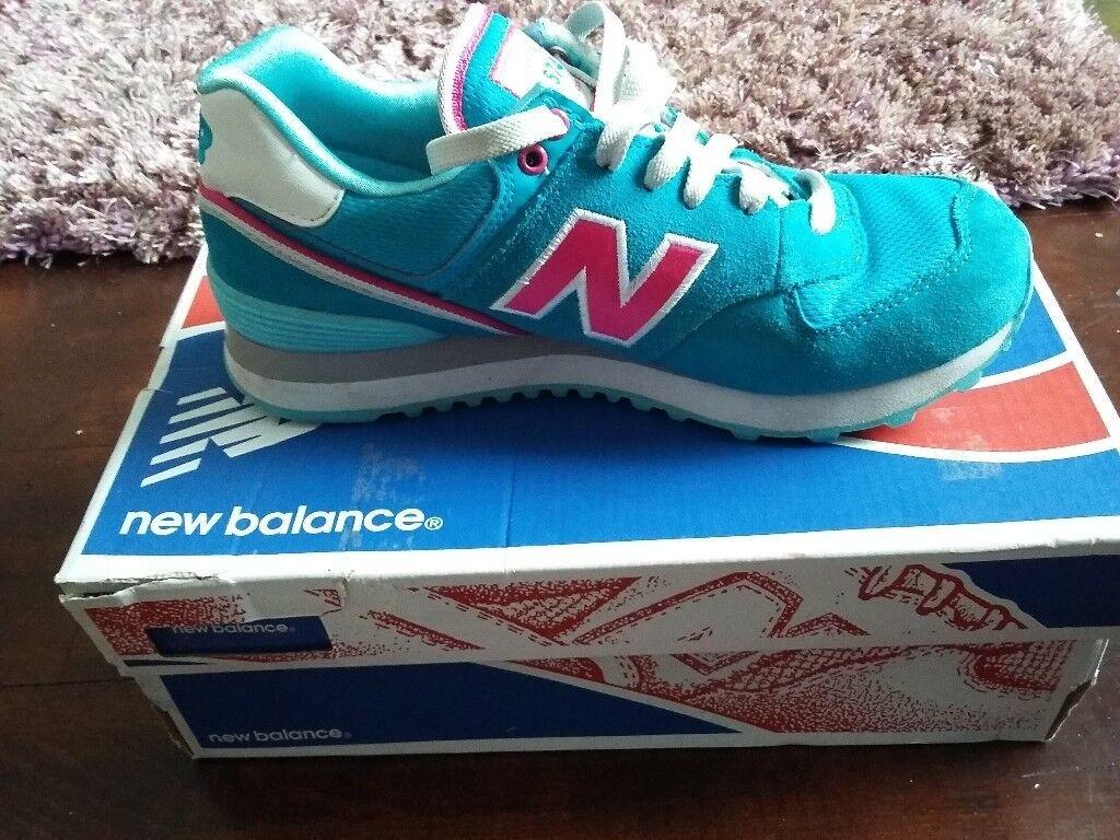 New Balance trainers ladies/girls