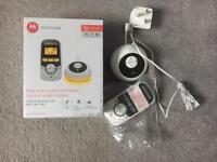 Motorola baby monitor - like new