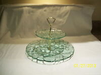 BUBBLE GLASS SWEET / CAKE PLATE