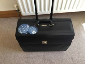 Leather trolley case