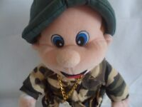 Beverly Hills Teddy Bear Co. Marching Singing Soldier 1979