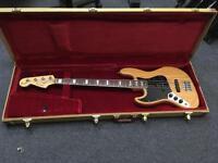 1979 all original Fender Jazz Bass left handed