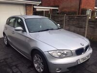 bmw 1 series silver, cheap price, manual diesal