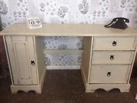 Gorgeous distressed dressing table / desk