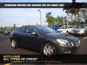 2012 Volvo S60 WOW ONLY 59000 KM,S/  LEATHER / SUNROOF