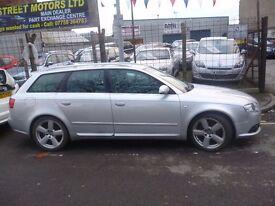 Audi A4 Avant S Line,170 bhp estate,FSH,clean tidy estate car,runs and drives as new,SA07FGJ
