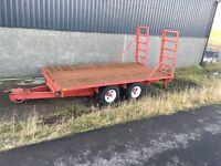 Low loader trailer. 13x6ft.
