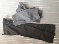 Boys school trousers and shorts slim 8-9