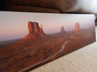Beautiful mounted print of Sunset over Monument Valley