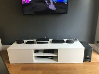 Gloss TV unit in white for Sale!!!