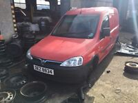 2005 1.3 Diesel CDTI Vauxhall Combo, Breaking for parts only. Postage Nationwide