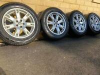 Land Rover Freelander 2 / Range Rover Evoque 18 inch alloy wheels - Pirelli Scorpions!
