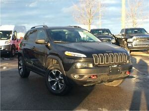 2016 Jeep Cherokee TRAILHAWK**4X4**LEATHER**POWER SUNROOF**