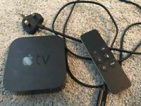 Apple TV 4th Generation, Remote + Power Cable