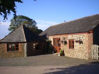Autumn breaks in lovely holiday cottage near Bude, Cornwall (sleeps 4 + cot)