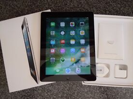 Apple iPad 4th Gen 16gb AS NEW BOXED with charger and lead.. Mint