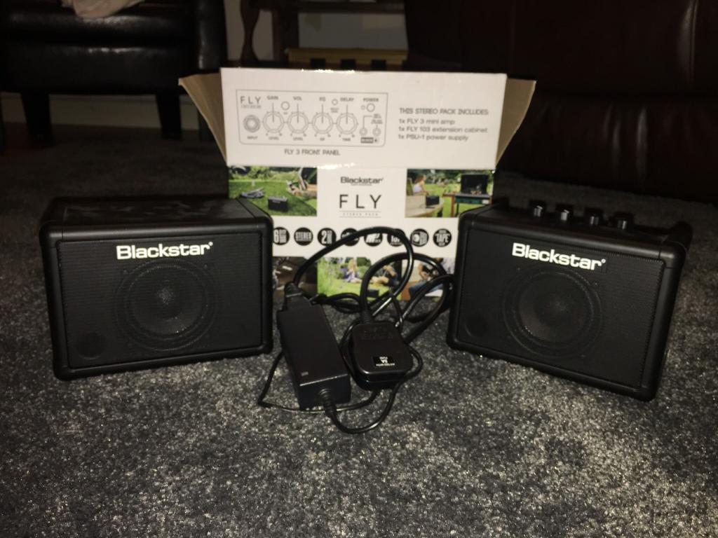 Blackstar Fly 3 stereo mini guitar amp TRADE FOR GOOD HARD CASE