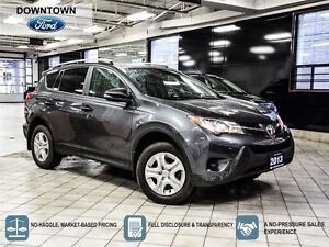 2013 Toyota RAV4 LE, One owner trade in with Car Proof Verified