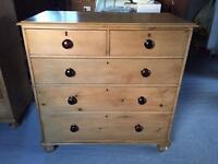 Original pine drawers