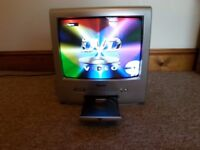 """14"""" TV / DVD Player With Remote Control"""