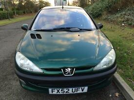 Peugeot 206 1.4 petrol mot till July service history in very good conditions