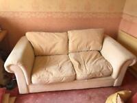 Deep and cozy sofa bed