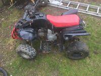 90 cc quad semi auto