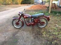 BSA c12 1955