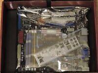ASUS M3A78-CM MOTHERBOARD ATHLON CPU 1GB VIDEO