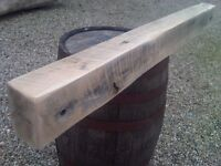 oak beams air dried suitable for mantles