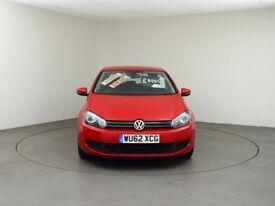 Volkswagen GOLF MATCH 2.0 TDI Match DSG 5dr (red) 2012