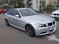 2007 (07) BMW 325D M SPORT 4 DOOR AUTOMATIC - 89K FULL BMW SERVICE HISTORY - SUPERB