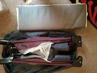 Mamas and papas travel cot and mattress