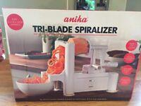 Anika Tri-Blade Spiraliser (BRAND NEW)