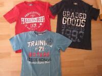 3 T-Shirts Gr. 134/140 für Jungen, Top Zustand Bremen - Lesum Vorschau