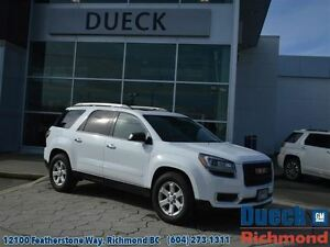 2016 GMC Acadia SLE2  Accident Free - Local - AWD