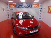 Honda Civic I-VTEC SI(ONLY 26000 MILES) FREE MOT'S AS LONG AS YOU OWN THE CAR!!! (red) 2010