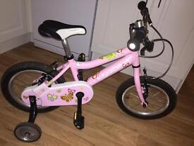 """14"""" Ridgeback Honey girls Bike (up to 4yrs old)"""
