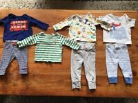 Baby boy next and joules clothing