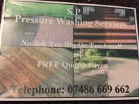 Pressure washing & gardening free quote