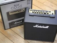 Marshall Code 25 Guitar Modelling Amp - New.